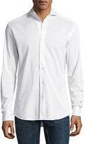 Ralph Lauren Knit Sport Shirt, White