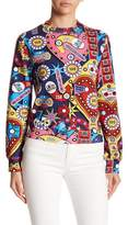 Love Moschino Flipper Pop Art Pullover Sweatshirt