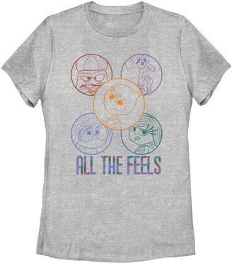Fifth Sun Juniors' Inside Out All The Feels Tee