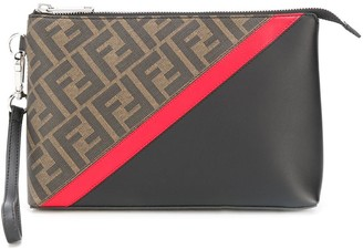 Fendi FF motif make up bag