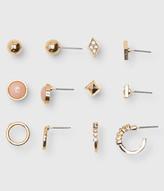 Pyramid Stud Earring 6-Pack