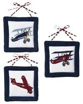 JoJo Designs Jo Jo Designs Sweet Vintage Aviator Wall Hangings