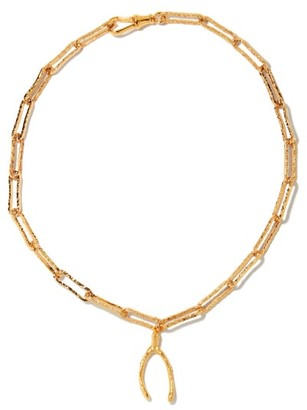 Alighieri The Past Follies 24kt Gold-plated Necklace - Yellow Gold