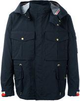 Moncler Gamme Bleu multi-pocket rain jacket - men - Polyamide/Spandex/Elastane/Cupro - 1