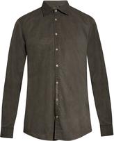 Massimo Alba Dyed cotton shirt