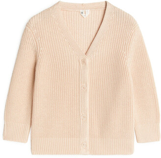 Arket Pima Cotton Cardigan