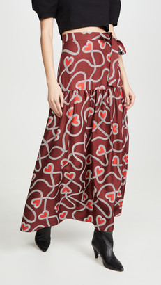 Chinti and Parker Anni Heart Skirt