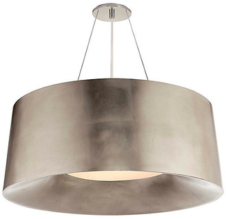 Halo Hanging Shade - Silver Leaf - Visual Comfort
