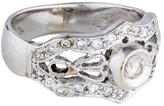 Ring Diamond Filigree Band