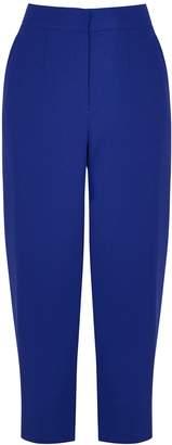 Mark Kenly Domino Tan Philina Cobalt Slim-leg Trousers