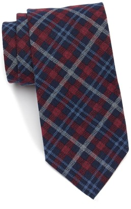 Tommy Hilfiger Multi Boston Plaid Tie