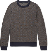 A.P.C. Diagonal-Stripe Wool-Blend Sweater