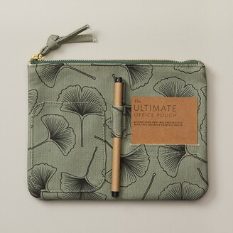 Indigo Paper Good Earth Ultimate Office Pouch Ginko