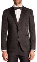 Sand Long Sleeve Wool-Blend Jacket
