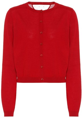RED Valentino Wool and silk cardigan