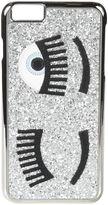 Chiara Ferragni Silver 'flirting' Iphone 6 Plus Case