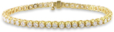 Ice Sofia B 6 CT TDW Diamond 14K Gold Tennis Bracelet