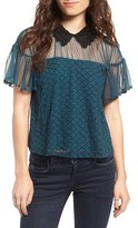 Tularosa Women's Langley Lace Collar Top