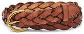 Fossil Skinny Braided Belt