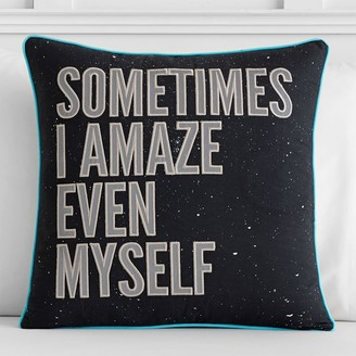 Pottery Barn Teen Star Wars Han Solo Quote Pillow Cover