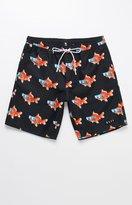 "Neff Goldfish Hot Tub 19"" Swim Trunks"