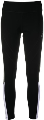 EA7 Emporio Armani Logo Colour-Block Leggings