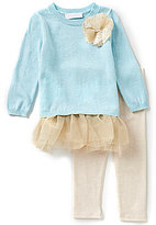 Bonnie Jean Bonnie Baby Baby Girls 12-24 Months Sweater Top & Leggings Set