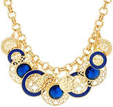 "C. Wonder 20 1/2"" Rolo Link Statement Necklace with Charm Stations"