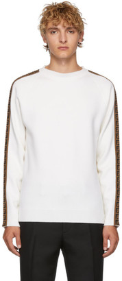 Fendi White Forever Sweater