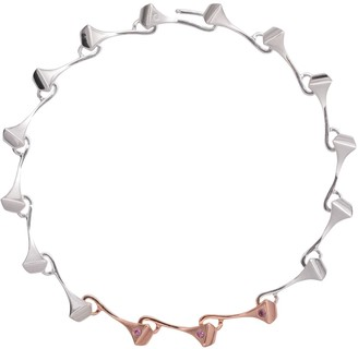 Cristina Cipolli Jewellery Amazon Choker Silver & Pink