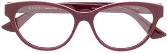 Gucci GG0766O round-frame glasses