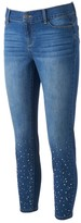 Juicy Couture Women's Embellished Skinny Jeans