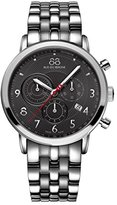 88 Rue du Rhone Men's 87WA120055 Analog Display Swiss Quartz Silver Watch