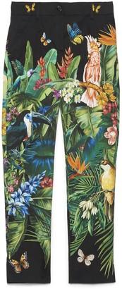 Dolce & Gabbana Jungle Print Pants