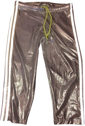 adidas Silver Spandex Trousers