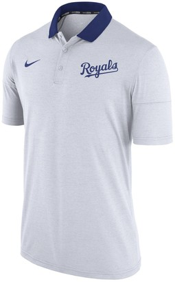 Nike Men's White Kansas City Royals GM Touch Polo