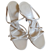 Gucci Beige Leather Sandals