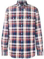 DSQUARED2 Men's Blue/red Cotton Shirt.