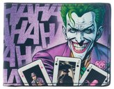 "Batman Wallet - DC Comics Joker ""HAHAHA"" Bi-Fold New Gifts mw1vlwdco"