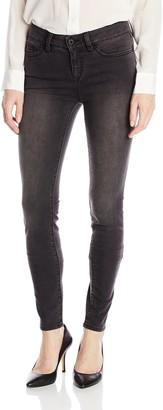 Yummie by Heather Thomson Yummie Women's Modern Mid Rise Slimming Skinny Denim Jeans Charcoal Jeans 25 X 30