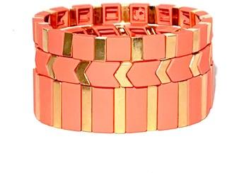 Bette Rose Triple Stack Bracelet