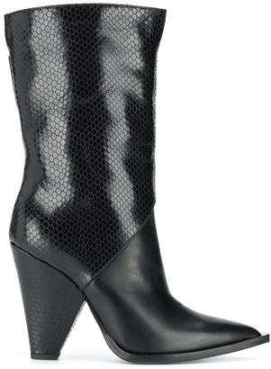 Just Cavalli Calf -Length Boots