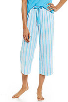 Karen Neuburger Striped Capri Sleep Pants