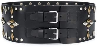 Isabel Marant Geometric Studded Belt