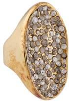 Alexis Bittar Crystal Pool Ring