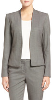 Halogen Bird's Eye Suit Jacket (Regular & Petite)