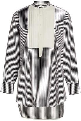 Victoria Beckham Tuxedo Bib Shirt