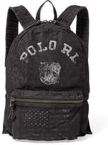 Ralph Lauren Bulldog Denim Backpack