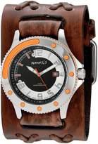 Nemesis Men's BVDXB105N Sporty Series Analog Display Japanese Quartz Brown Watch