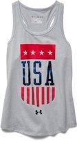 Under Armour Girls' UA USA Tank
